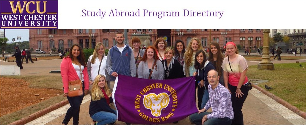 West Chester University Spring Break 2020.Programs Featured Wcu Education Abroad
